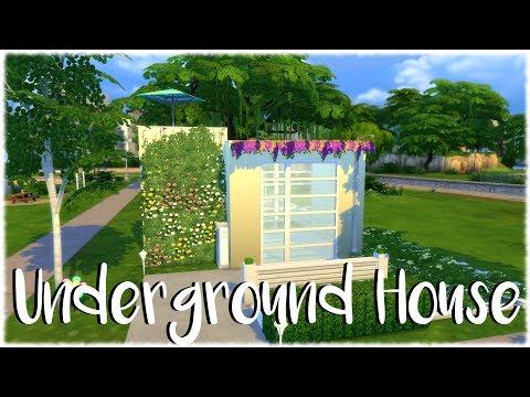 The Sims 4: Speed Build // UNDERGROUND HOUSE // NO CC