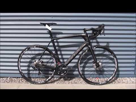 Sensa Giulia G2 Disc Custom Carbon Road Bike – 2018 (Matt Dark)