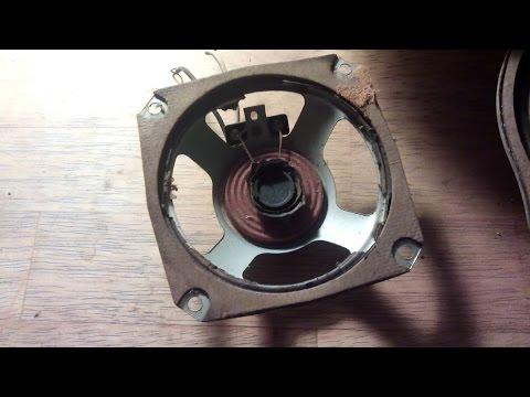 Sunday Project - blown speaker repair