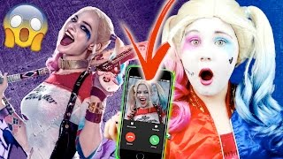CALLING HARLEY QUINN!! SHE ANSWERED OMG!!