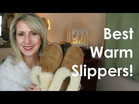 BEST WARM SLIPPERS!