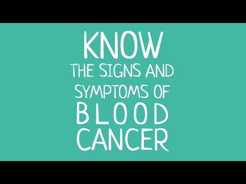 Signs and Symptoms of blood cancer