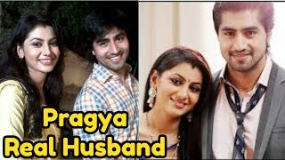Pragya Real Husband from Kumkum Bhagya