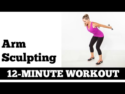 12 Minute Arms, Upper Body Exercises | Full Length Strength Home Workout