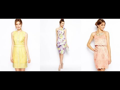 Semi-Formal and Formal Wedding-Guest Dresses