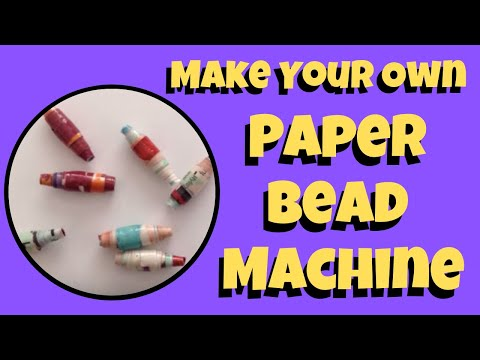 Make your own Machine to create Rolled Paper Beads Tutorial