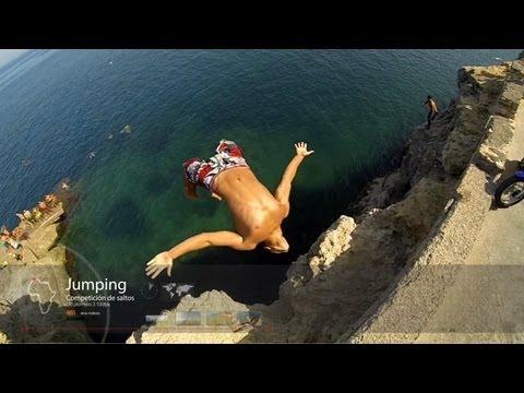 GoPro: Hero3 Black Edition 100 fps Slow motion Extreme - Melilla - Spain
