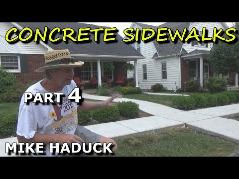 How I float finish concrete (part 4 of 6) Mike Haduck