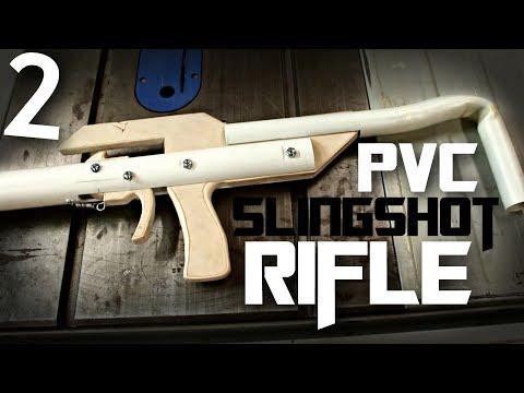 PVC Slingshot Rifle (build challenge) | Part 2