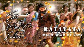 Ratatata Lyrical Song | Sadha Nannu Nadipe | Rp movie makers | Pratheek Prem, Vaishnavi