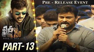 Khaidi No 150 Pre Release Event Part #13 || Megastar Chiranjeevi || Kajal Aggarwal || V V Vinayak