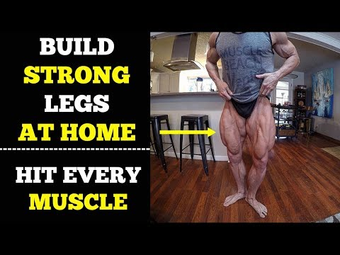 Legs Workout At Home (Quads, Hamstring, Butt) | Complete Home Workout Routine