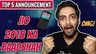 JioPhone 2,Jio Giga Fiber,Jio Giga TV Set-Top Box,Jio Smart Home Accessories Launch in India