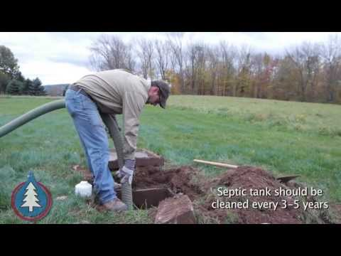 How Koberlein Cleans a Septic Tank