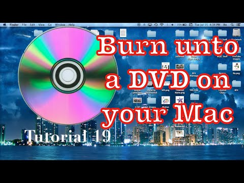 Burning A Video To A DVD using Apple Computer | Tech With Ro - Ep. 19