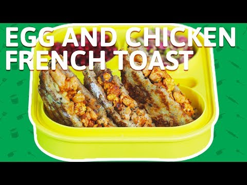 Chicken French Toast - How To Make French Toast Recipe - Chicken Recipe For Kids Tiffin Box