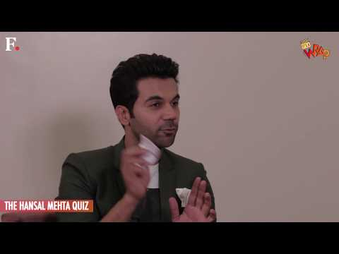 Rajkummar Rao - The Hansal Mehta Quiz | It's A Wrap