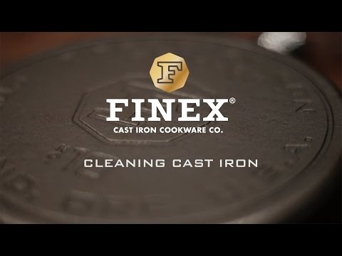 How To Clean FINEX Cast Iron Cookware