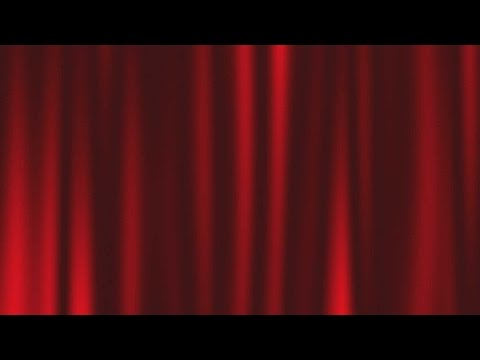 Free Stock Footage Red Curtain Drape Motion Background HD 1080P