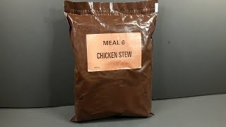 1981 Mountain House Civilian Long Range Patrol Ration LRP Vintage MRE Review Ready Meal Taste Test