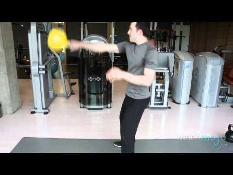Basic Kettlebell Exercises: Demonstration
