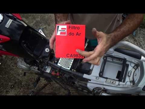 Trocando o Filtro de ar - Bros 150
