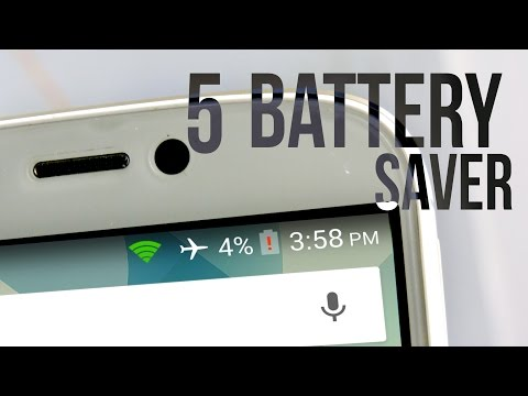 Top 5 Battery Saver Apps for Android (2015)