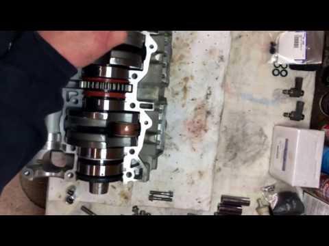Seadoo 951 crank case assembly. Part 2
