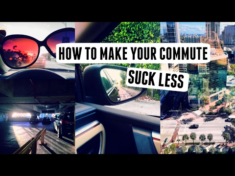 4 Ways to Improve Your Mood on Your Commute | #PositiveVibesOnly