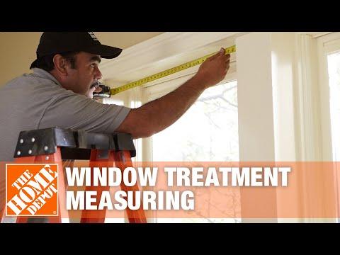 Quick & Easy Window Treatment Measuring