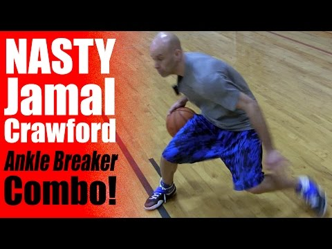 NASTY Jamal Crawford Crossover: NBA Ankle Breakers | How To Get Crazy Handles