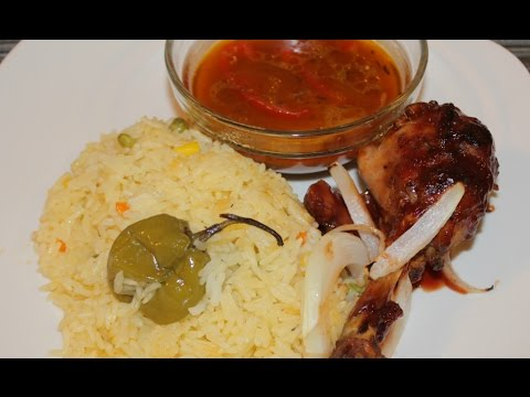 Haitian BBQ Chicken Meal Recipe
