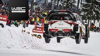 WRC - Rally Sweden 2018: Highlights Stages 9-11