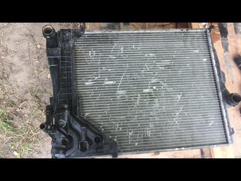 E46 BMW radiator replacement DIY