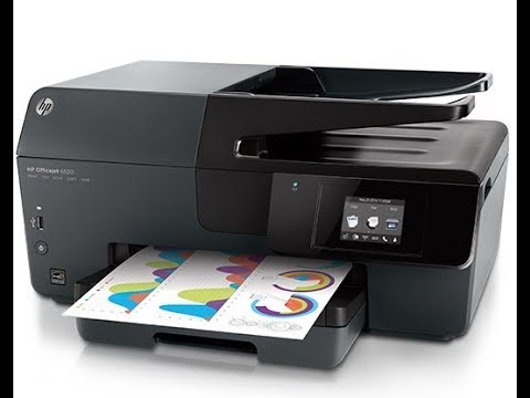 Hp Officejet 6800 - How To Clean Printhead (FIXED)- Link in Description ⬇️