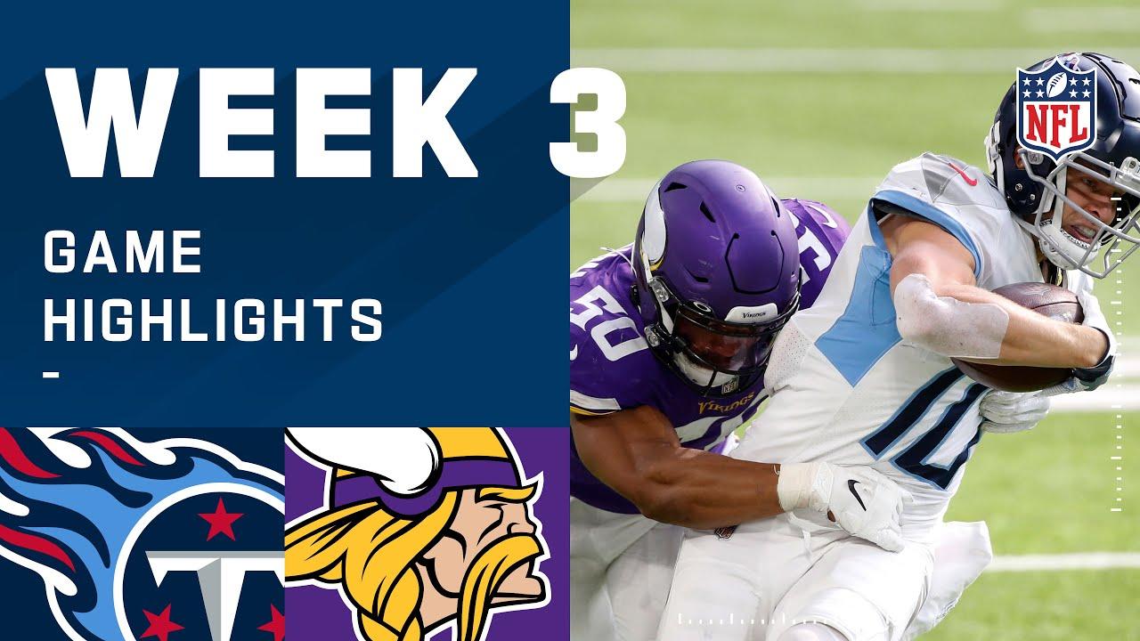 Titans vs. Vikings Week 3 Highlights | NFL 2020