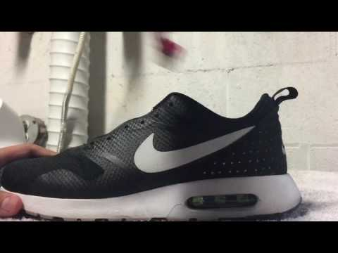 how to clean shoes ( nike air max tavas full restoration