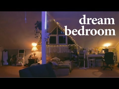 my dream bedroom (roomtour) / extreme attic makeover