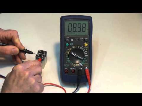 How to measure DC voltage with a DMM / Digital Multimeter