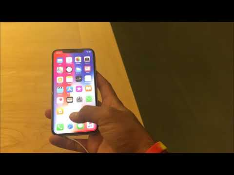 How to enable half-screen Reachability on iPhone X?