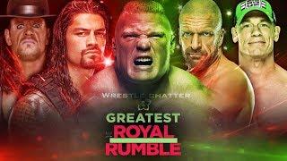 WWE Greatest Royal Rumble Winners ! 50 Man Royal Rumble Match ! Match Card & Predictions !