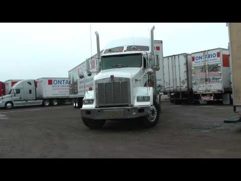 Ontario Truck Driving School Video 2015