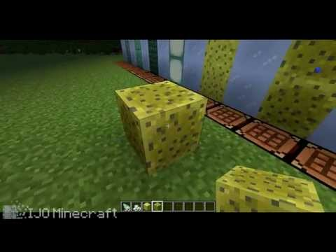 How To Get And Use Sponge In Minecraft 1.8