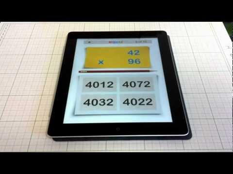 MQuiz Mental Math - two digits multiplication