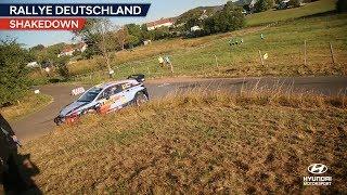 Rally Deutschland Shakedown - Hyundai Motorsport 2018