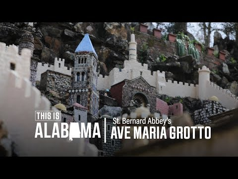 Ave Maria Grotto; at St. Bernard's Abbey | This is Alabama