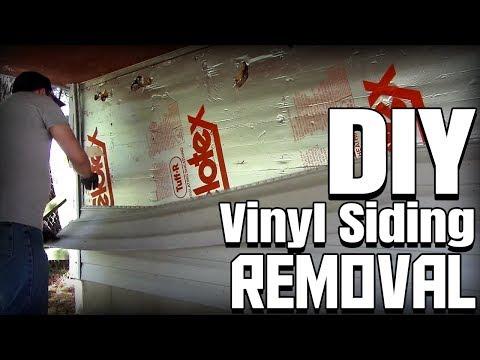 How to Remove Vinyl Siding | Easy DIY Tutorial