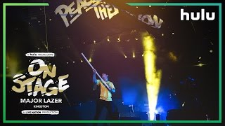 ON STAGE: Major Lazer 2D Trailer • Now Streaming in Hulu VR