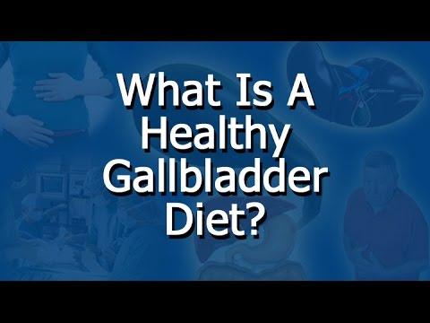 Healthy Gallbladder Diet