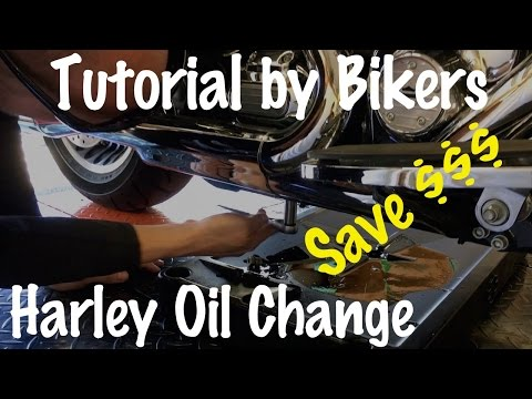 How to Change Oil on a Harley Harley Davidson Motorcycle & do Routine Maintenance-Biker Podcast